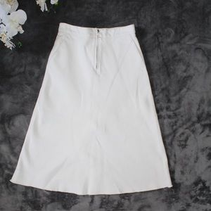 🌺NEW LISTING🌺 White denim Zara skirt